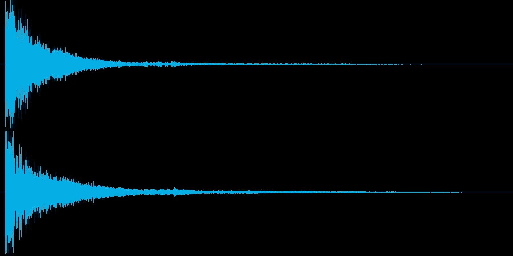 映画に合う効果音10の再生済みの波形