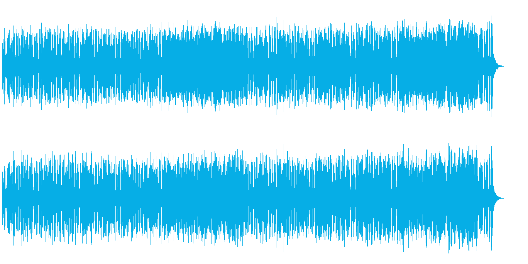ギター・プレイ中心のストレートなロックの再生済みの波形