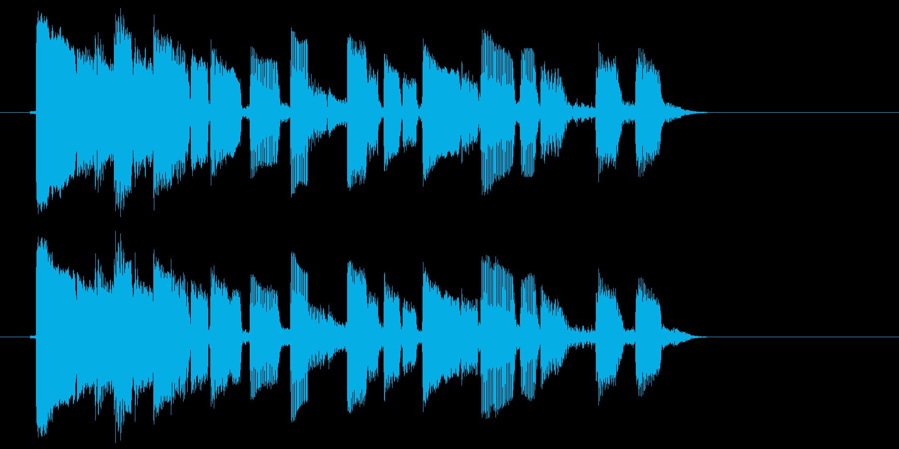 エレキ カントリー切り替え3 一触即発の再生済みの波形