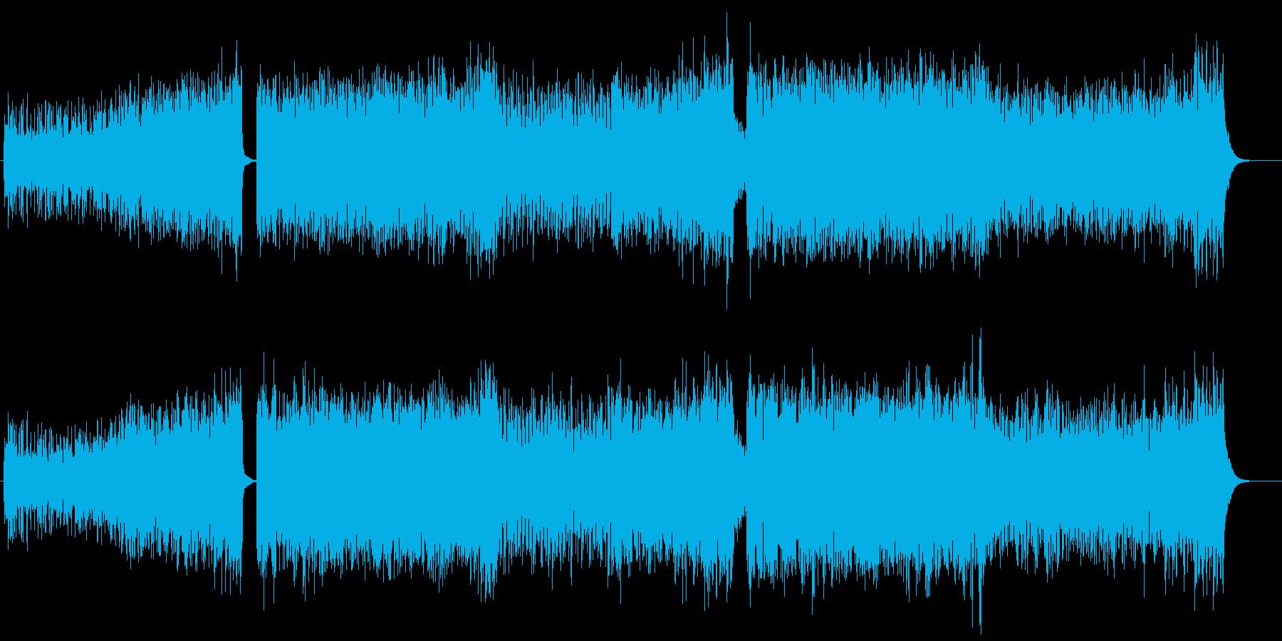 ハイテンションアゲアゲ系UKハードコアの再生済みの波形