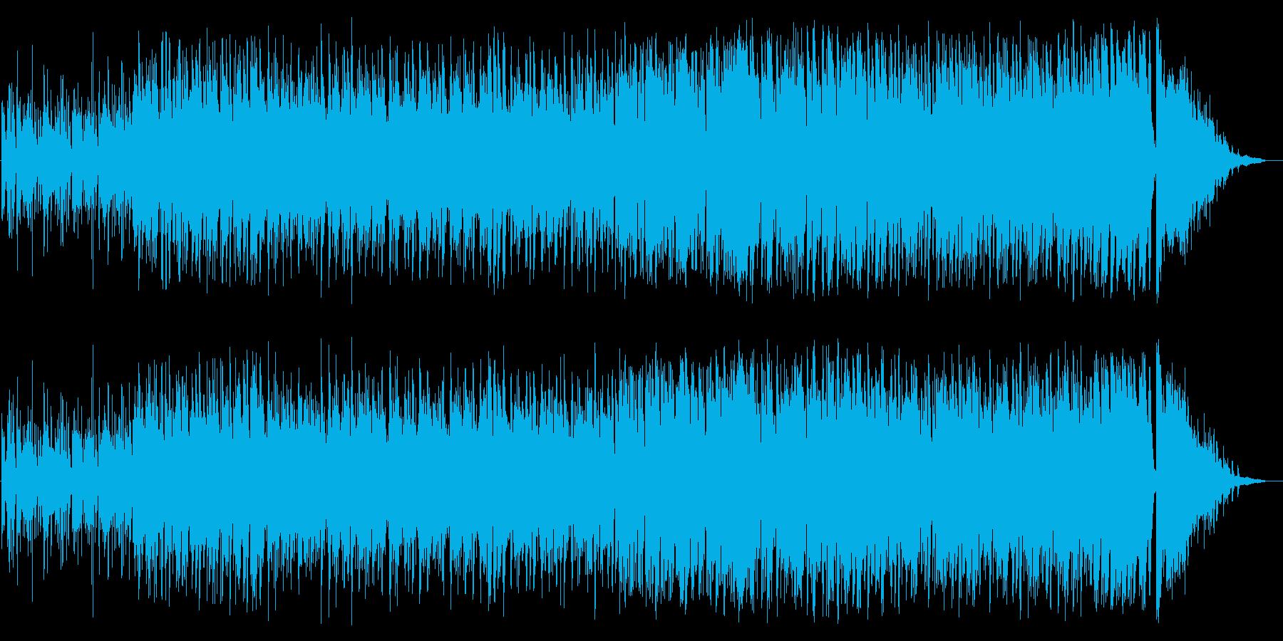 エッジの効いたサックスがかっこいいジャズの再生済みの波形
