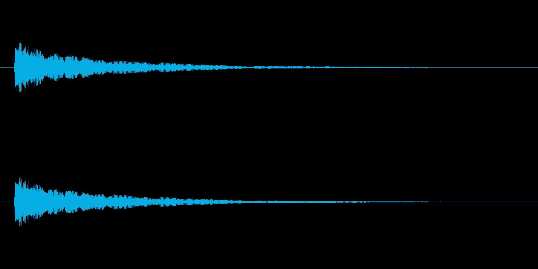 【ひらめき10-2】の再生済みの波形