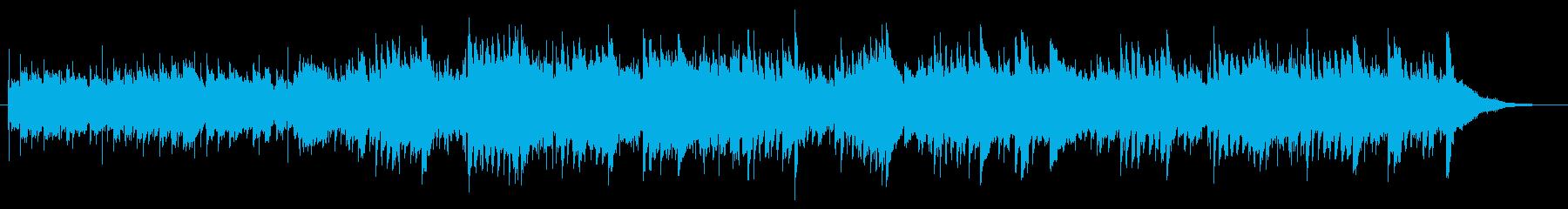 回想、想い出をイメージした曲の再生済みの波形