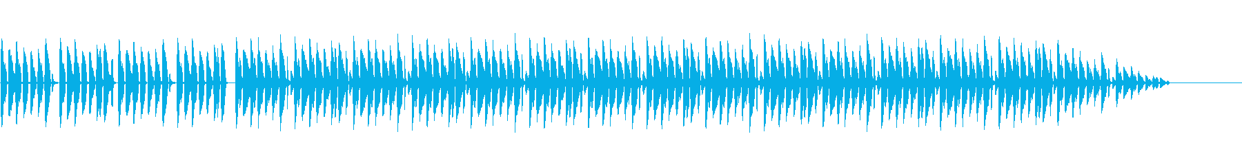 リコーダーとチューバでほのぼの、のんびりの再生済みの波形