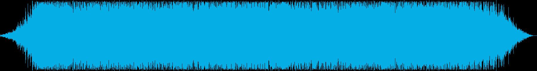 ゆったりしたギターシンセサウンドの再生済みの波形