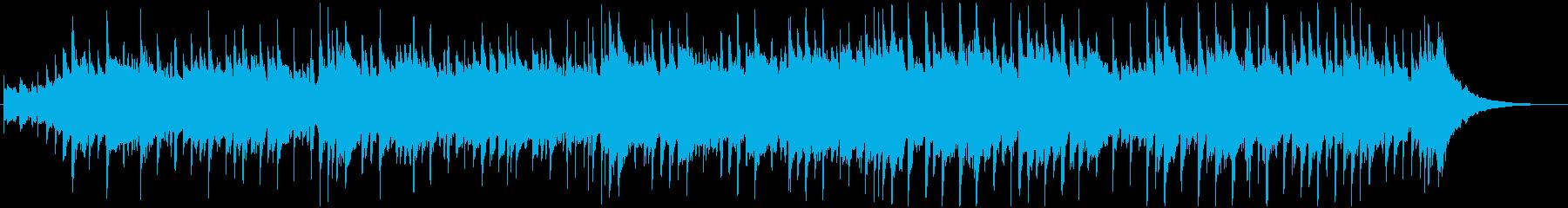 おしゃれでリラックスできるバラードの再生済みの波形