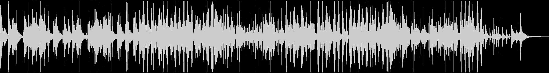トリオ、スロー・ムーディーなBGMの未再生の波形