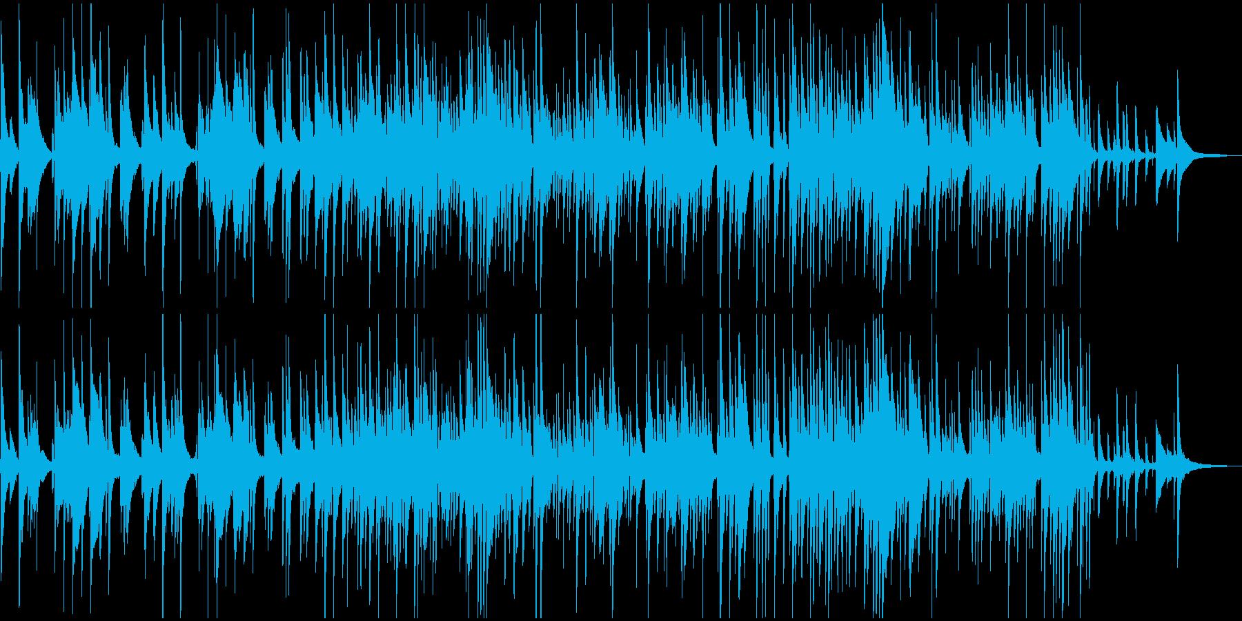 トリオ、スロー・ムーディーなBGMの再生済みの波形