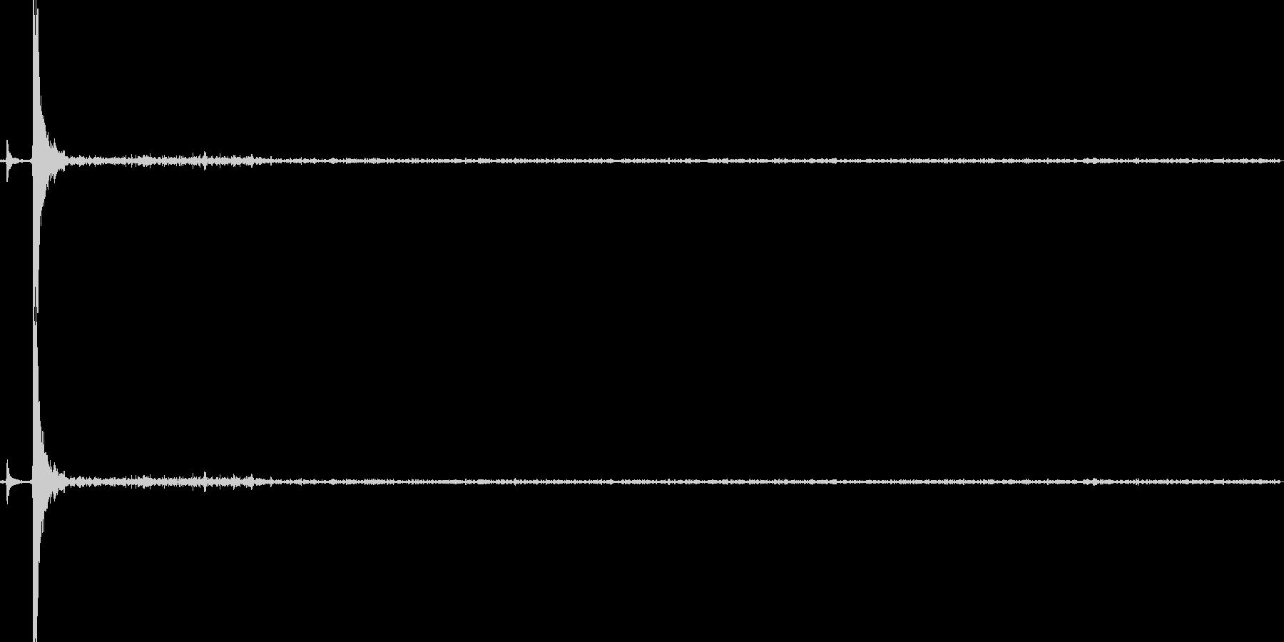 ガスコンロ点火の未再生の波形