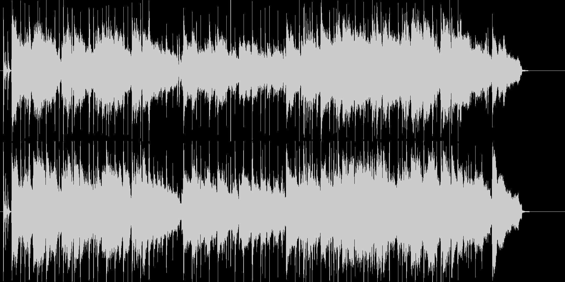 ゆったりと思い出に浸るBGMの未再生の波形
