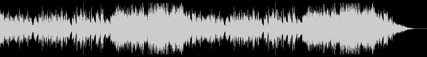 【ブライダル】ピアノメインの感動的な曲の未再生の波形