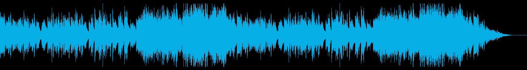 【ブライダル】ピアノメインの感動的な曲の再生済みの波形