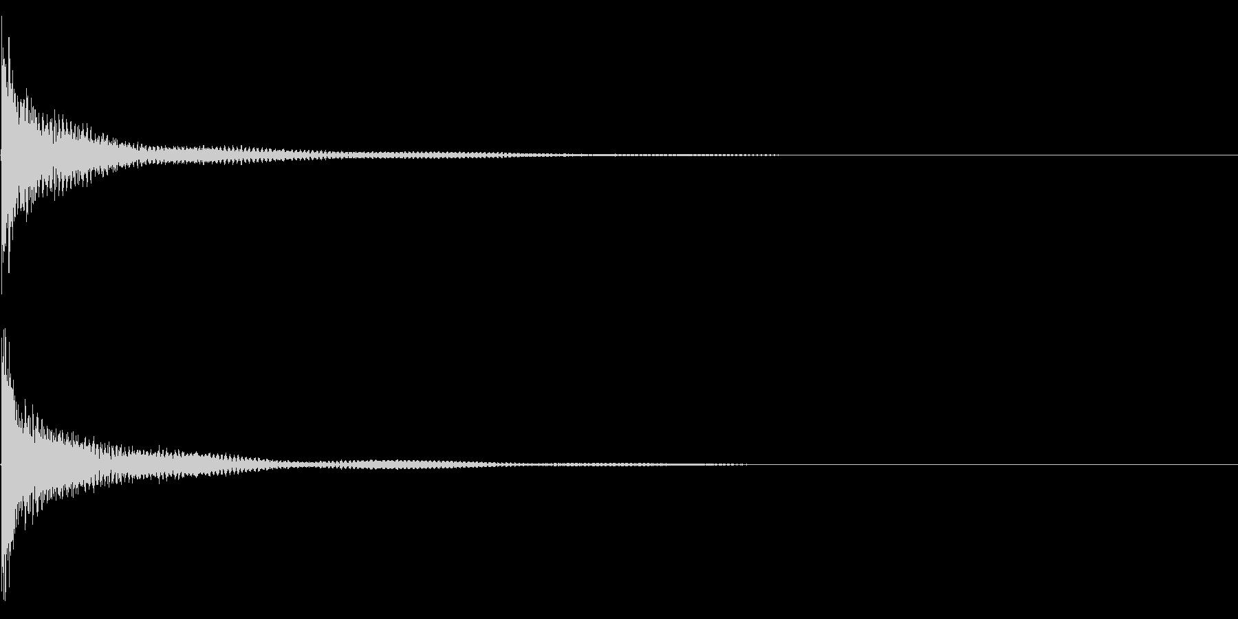 ティンパニー☆ドン!2の未再生の波形