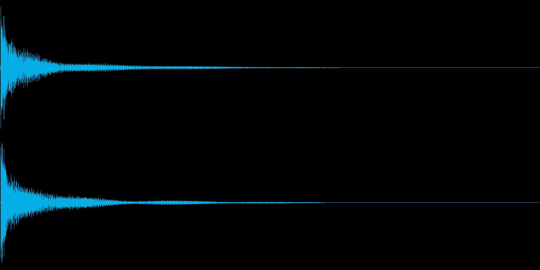 ティンパニー☆ドン!2の再生済みの波形