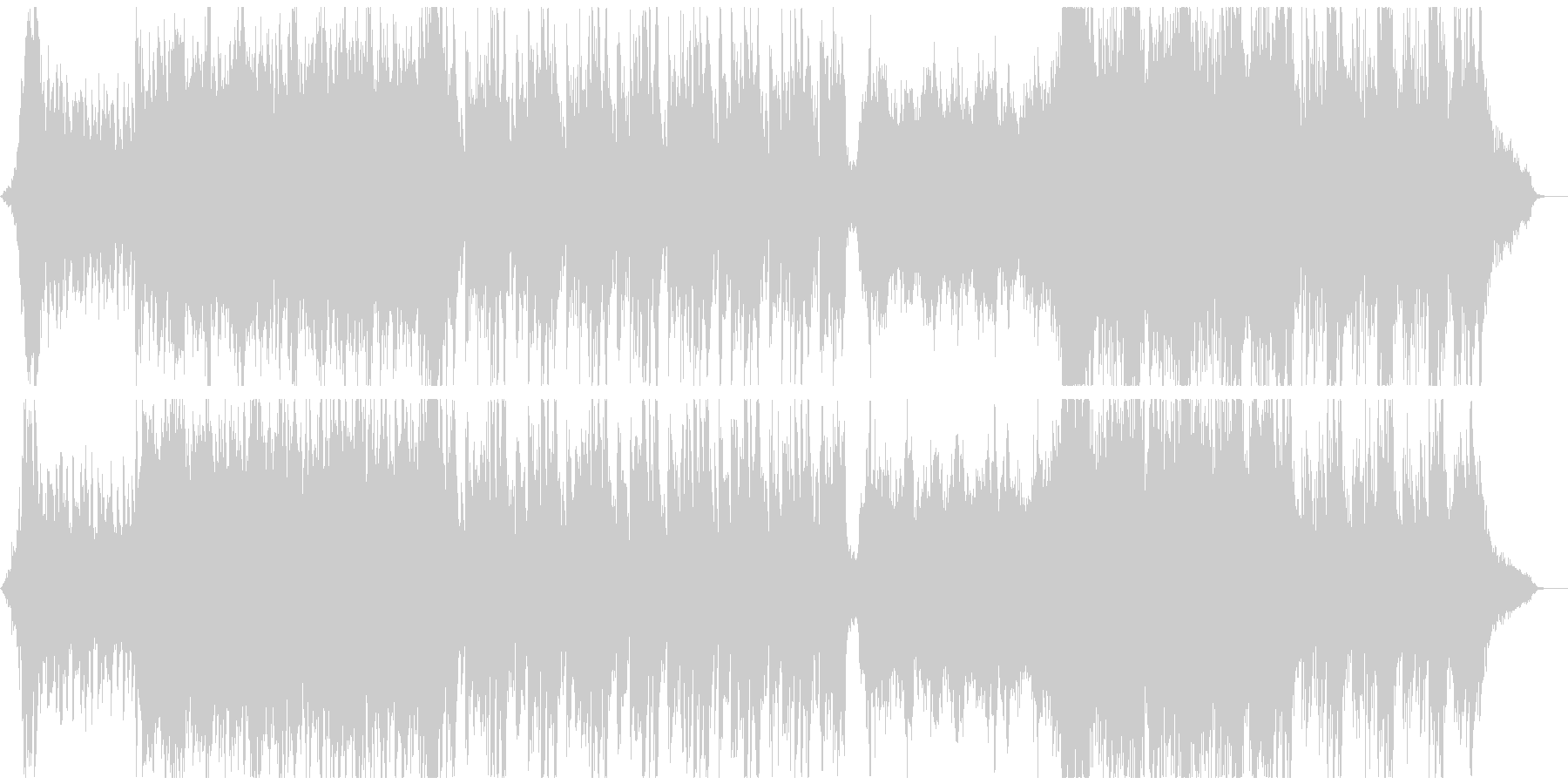 壮大で幻想的なワルツオーケストラの未再生の波形