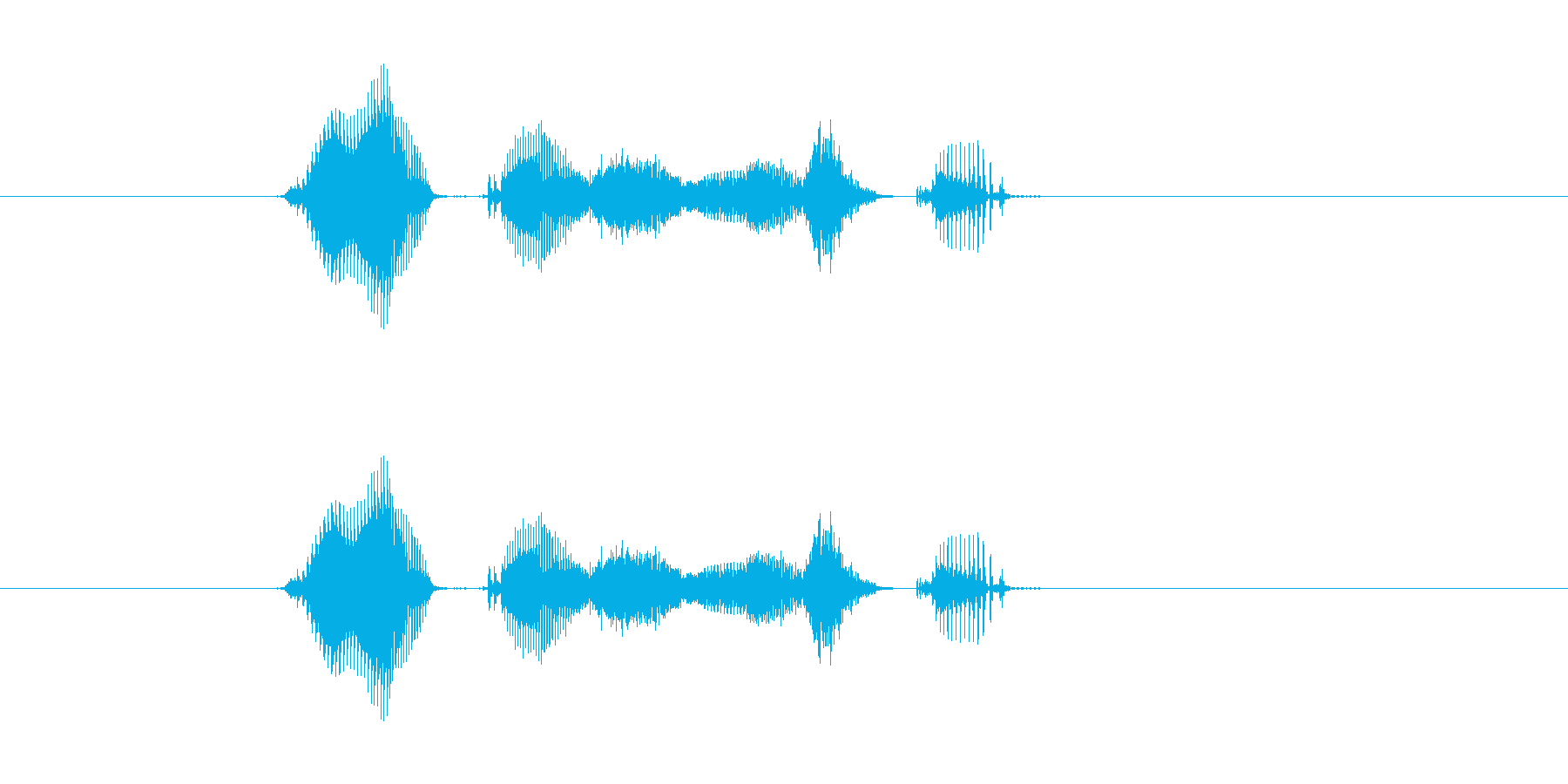 【システム】了解しましたの再生済みの波形