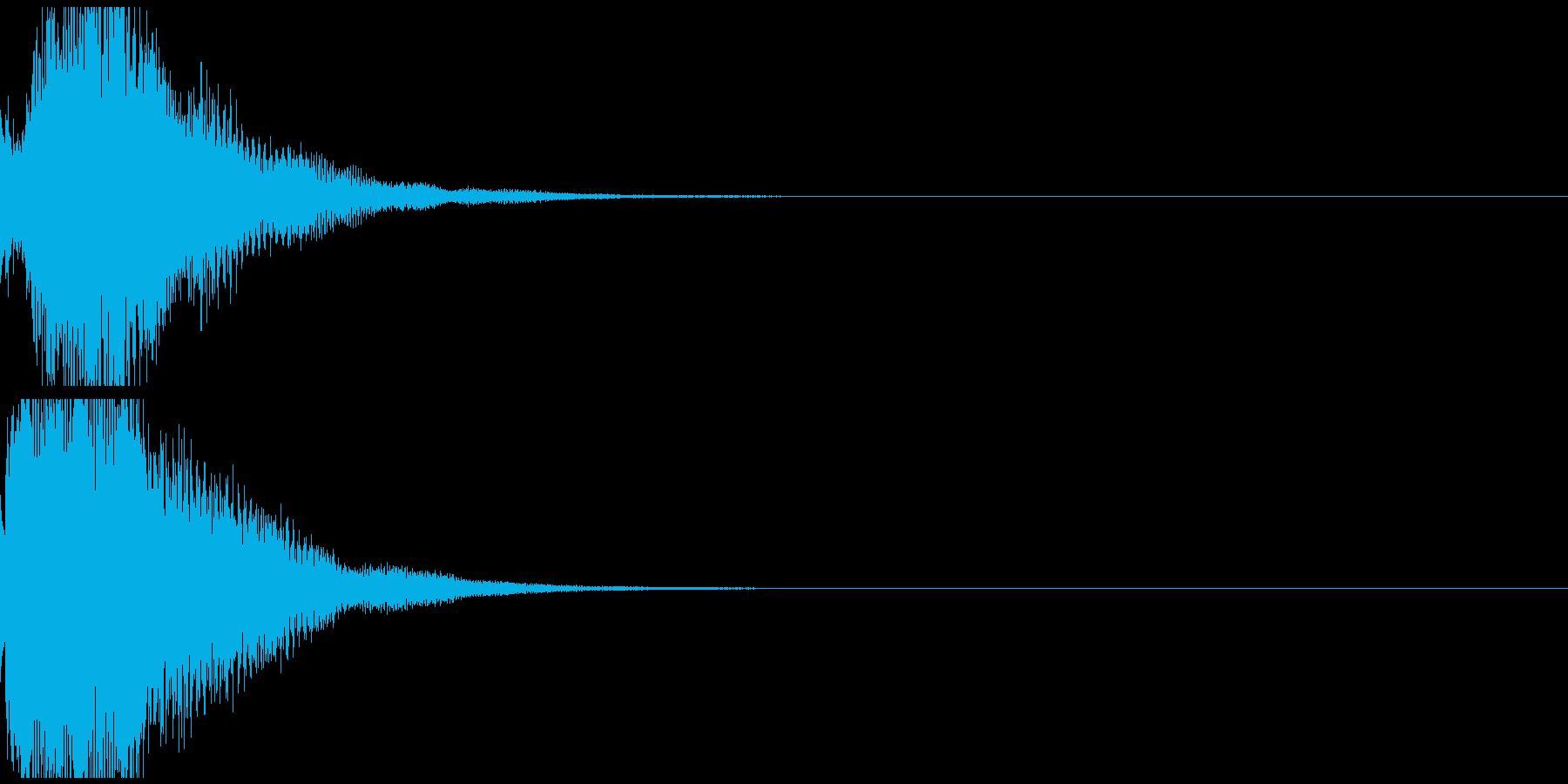 テレレン 透明感のある高品位な音の再生済みの波形