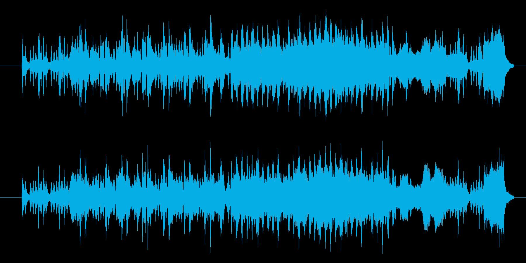 フルートがメロディーを奏でる、爽やかな…の再生済みの波形