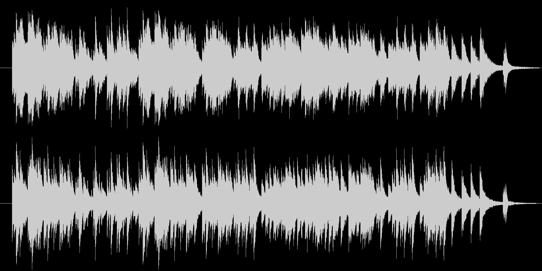 様々な用途で使える穏やかで温かなピアノ曲の未再生の波形