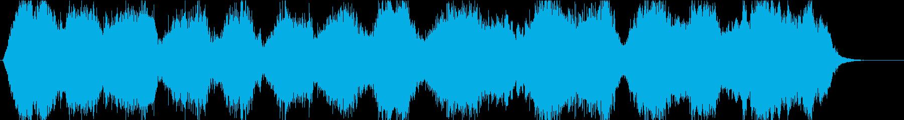 優美なストリングスのオープニングの再生済みの波形