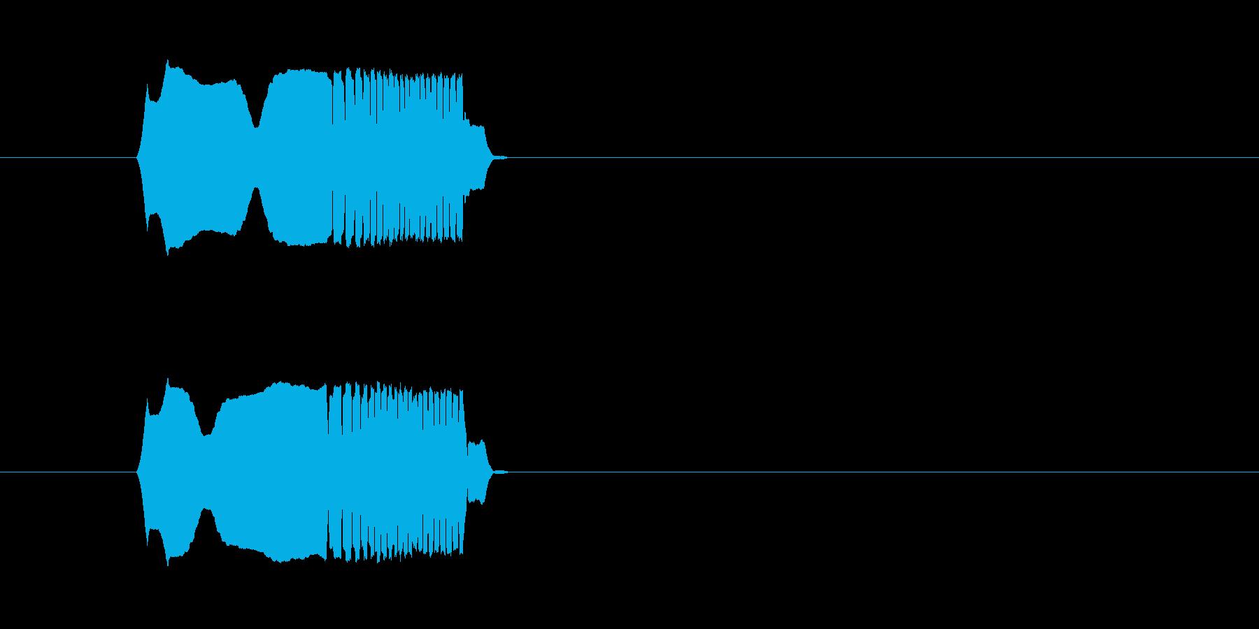 何かを放る_ポイ_m0221の再生済みの波形