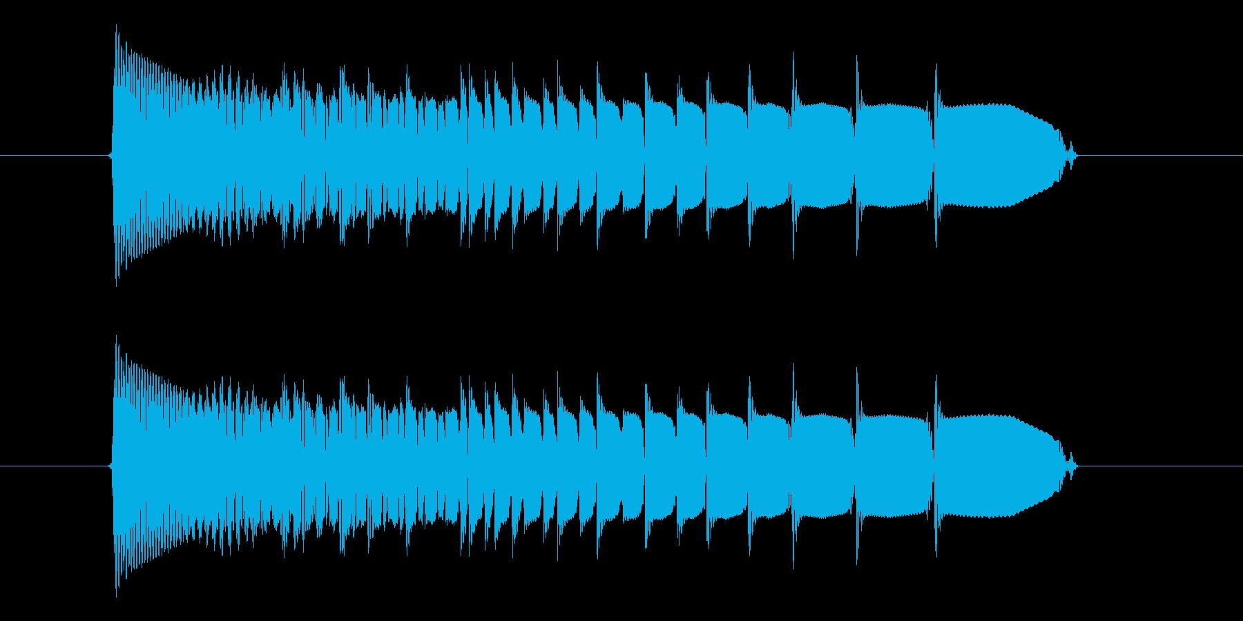 キュルキュル(宇宙、落下、回転)の再生済みの波形