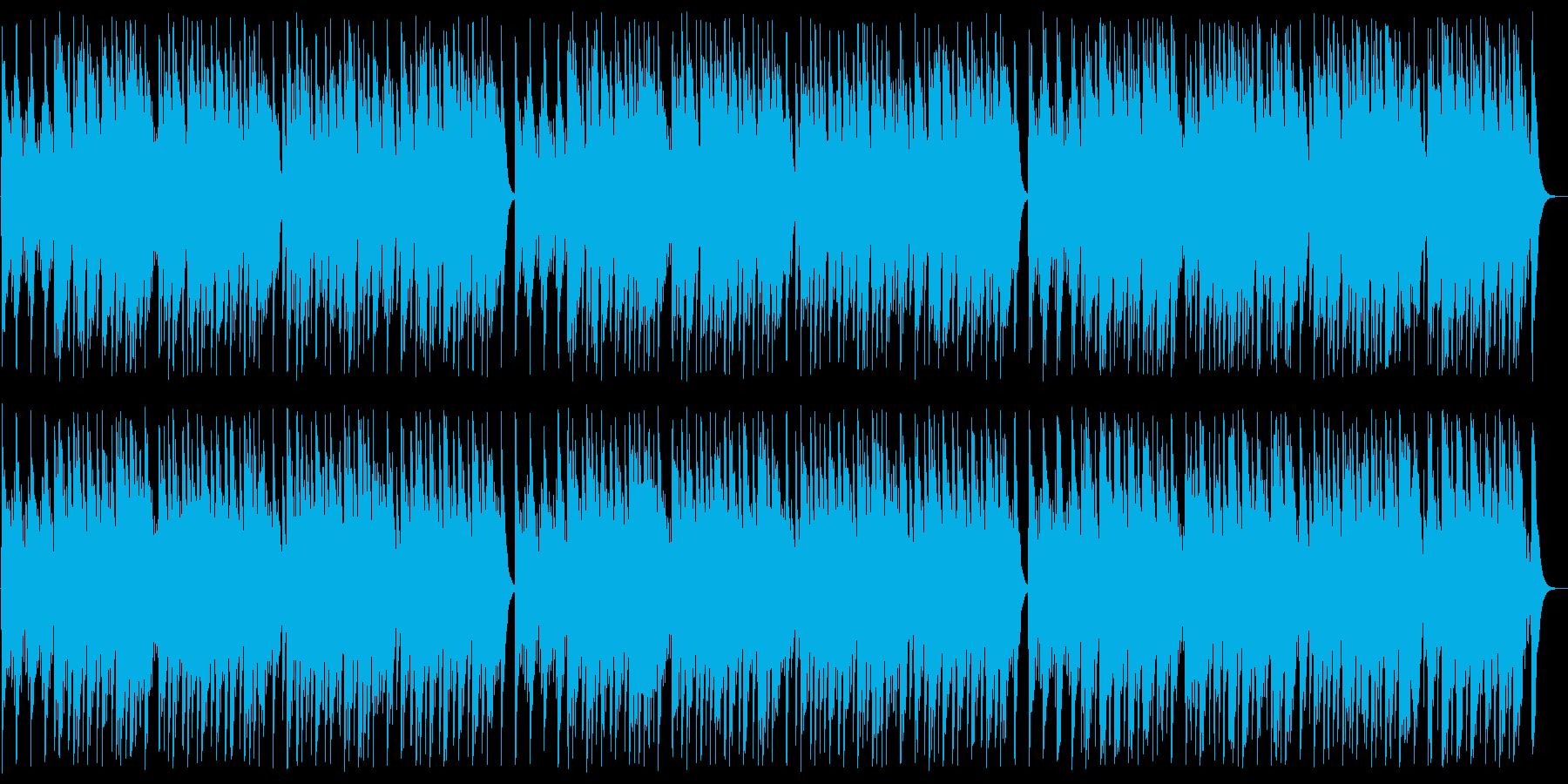 天なる神には オルゴールの再生済みの波形