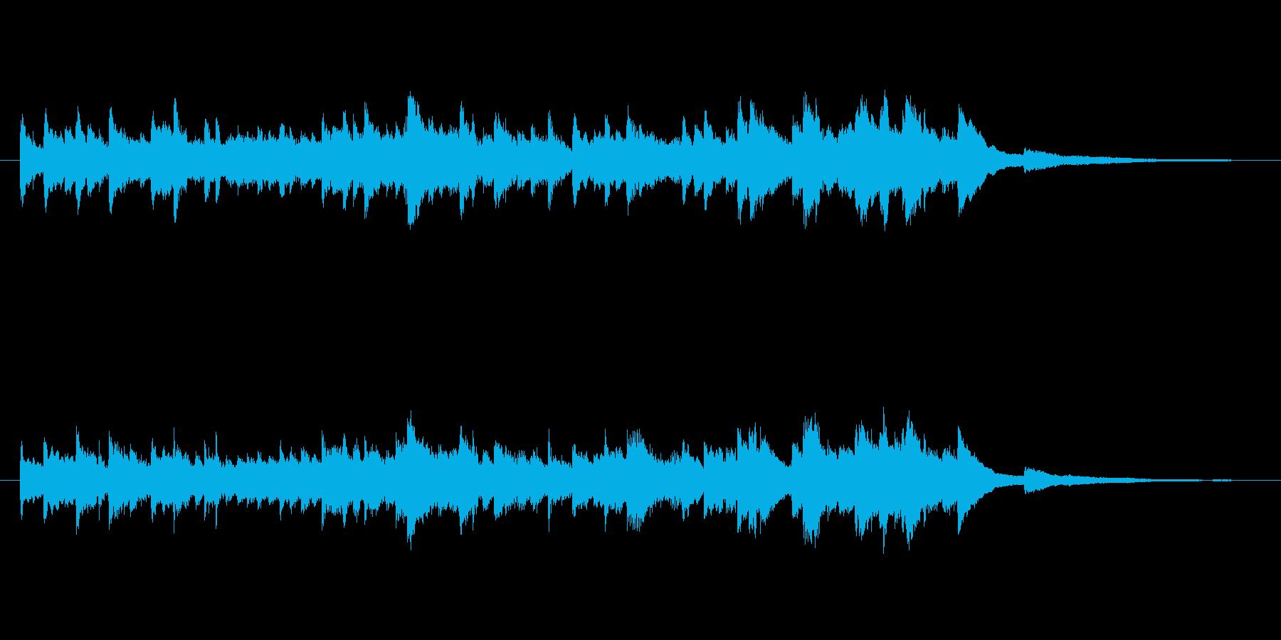 シンプル且つ心洗われるようなピアノソロの再生済みの波形