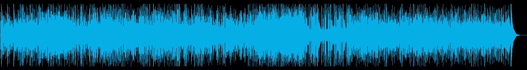 ウキウキとワクワクのスパニッシュギターの再生済みの波形