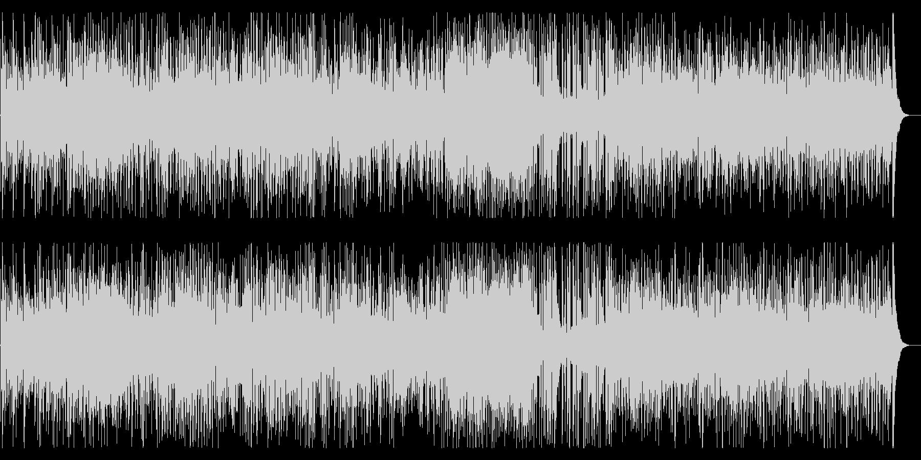 ウキウキとワクワクのスパニッシュギターの未再生の波形