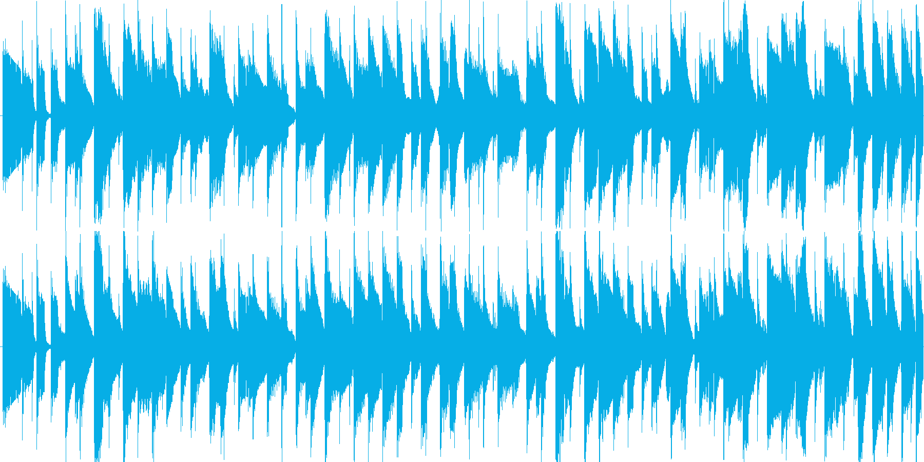 ほのぼの・安心・あたたかいイメージのア…の再生済みの波形