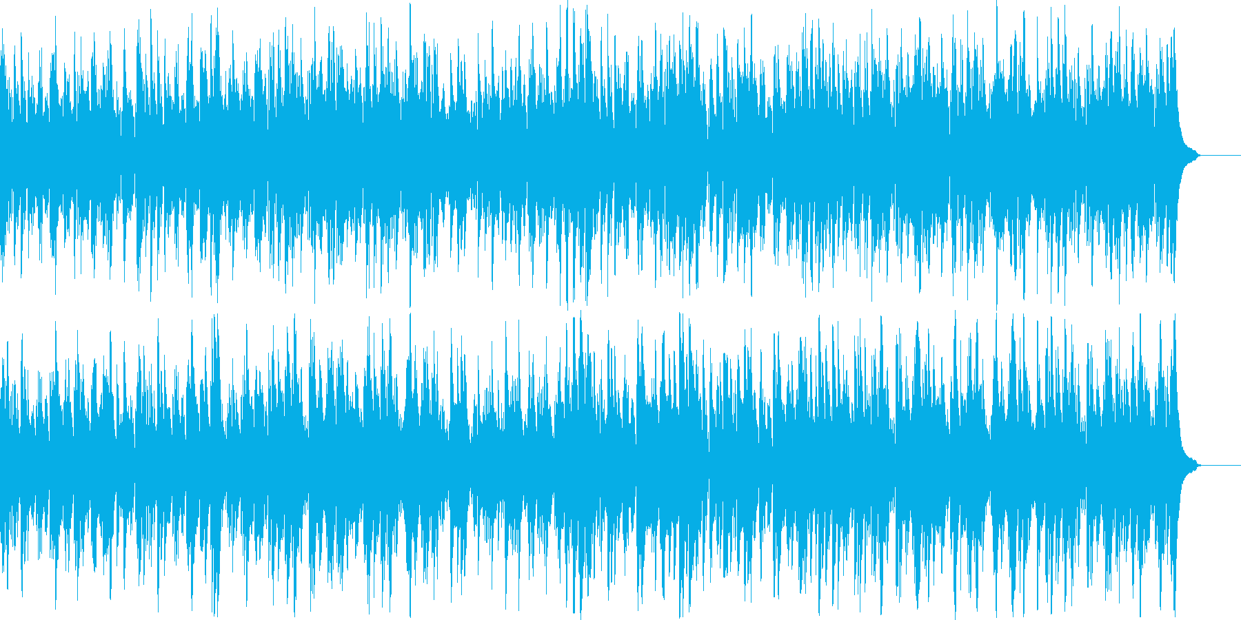 p013_軽快で楽しいピアノソロの再生済みの波形