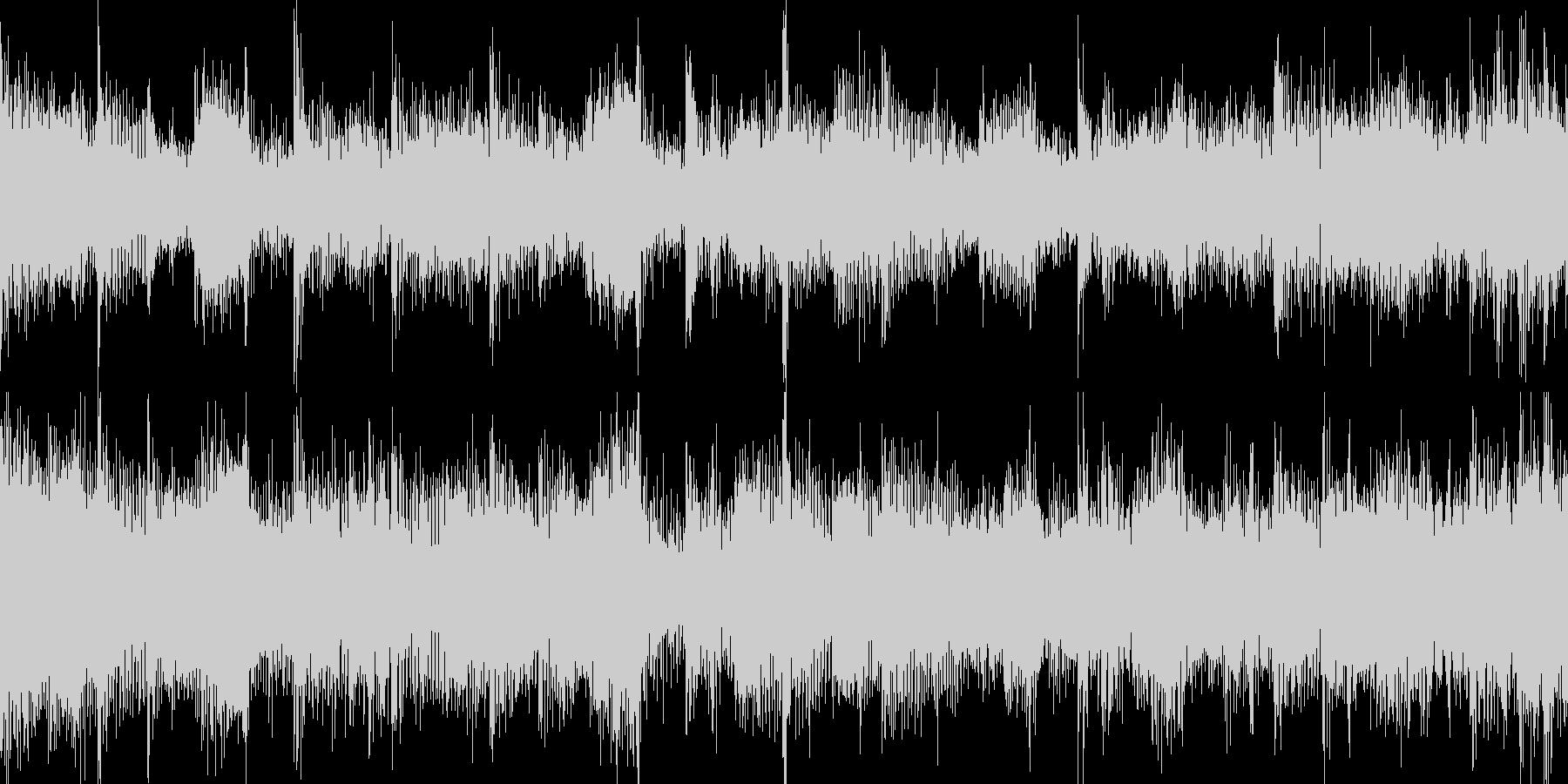 アップでカオスなループ_Loop001の未再生の波形