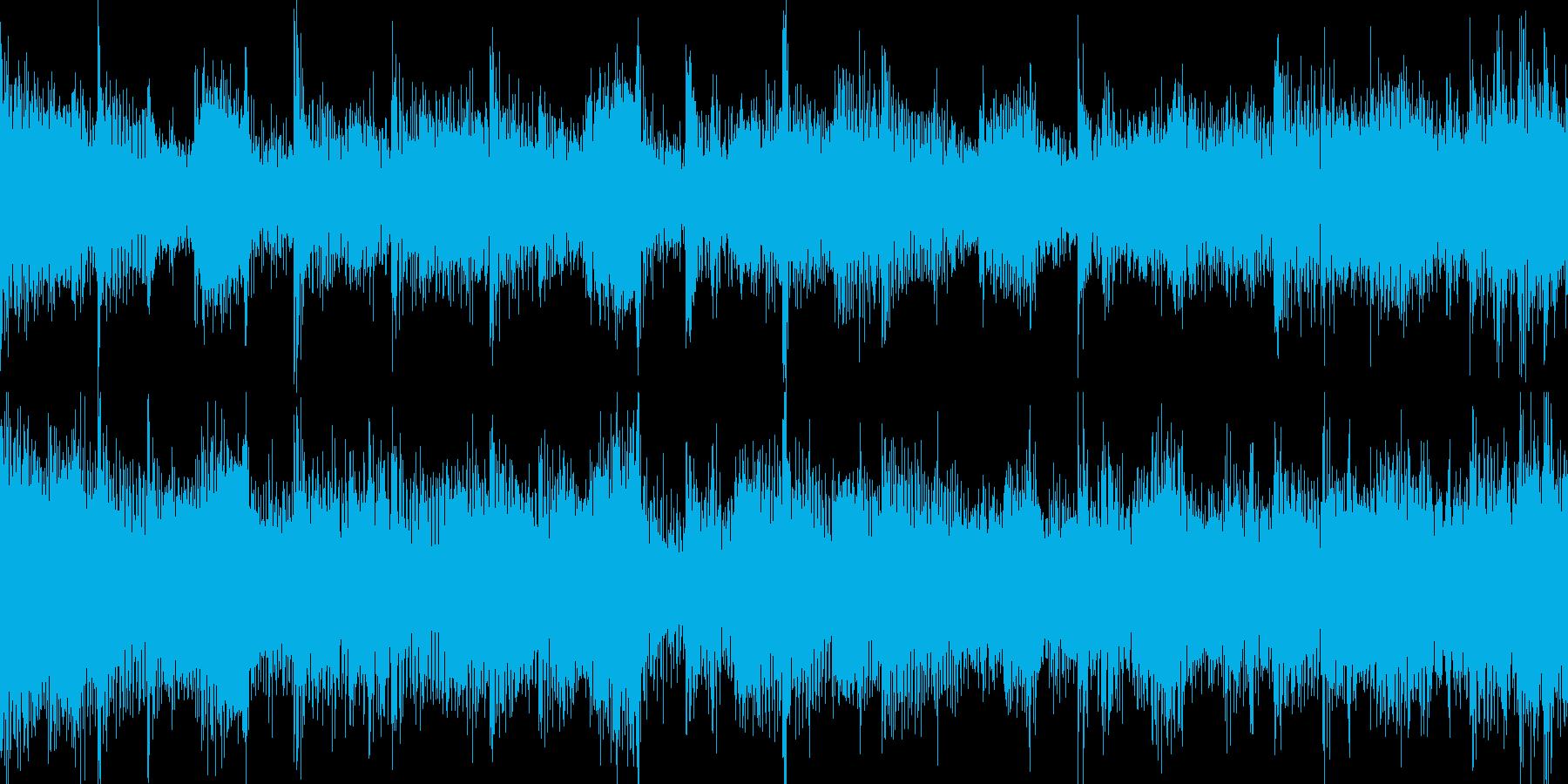 アップでカオスなループ_Loop001の再生済みの波形