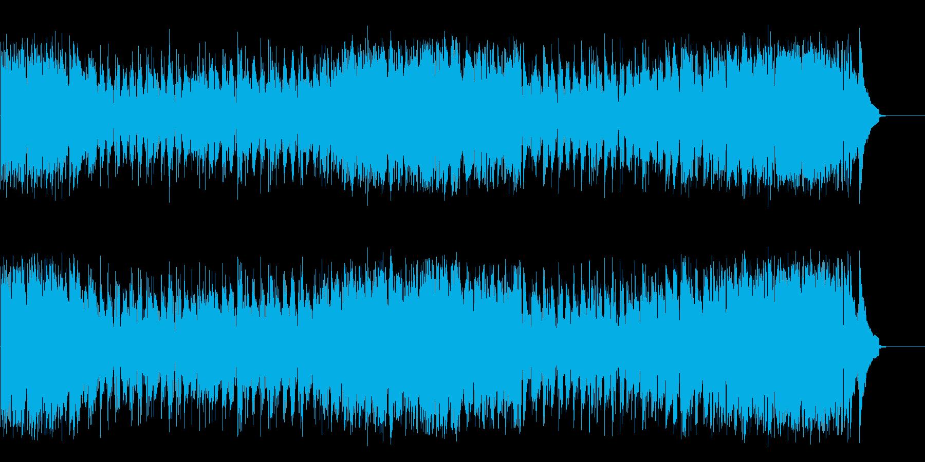 流れる風のキャッチーなポップフュージョンの再生済みの波形