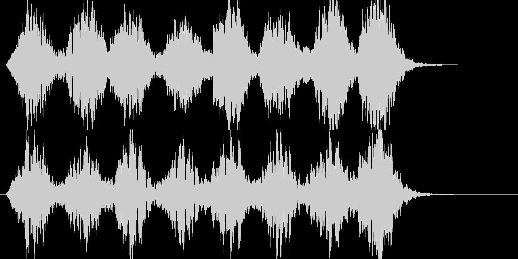 「ガラス、氷」のイメージBGM  B11の未再生の波形