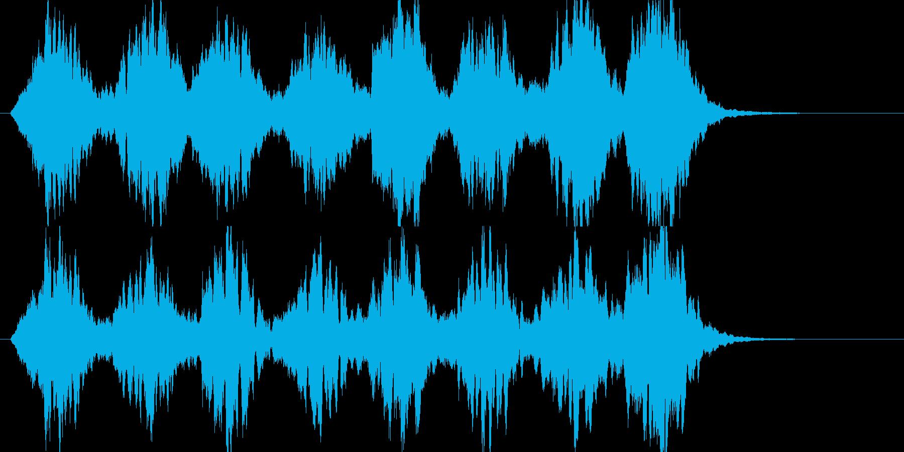 「ガラス、氷」のイメージBGM  B11の再生済みの波形