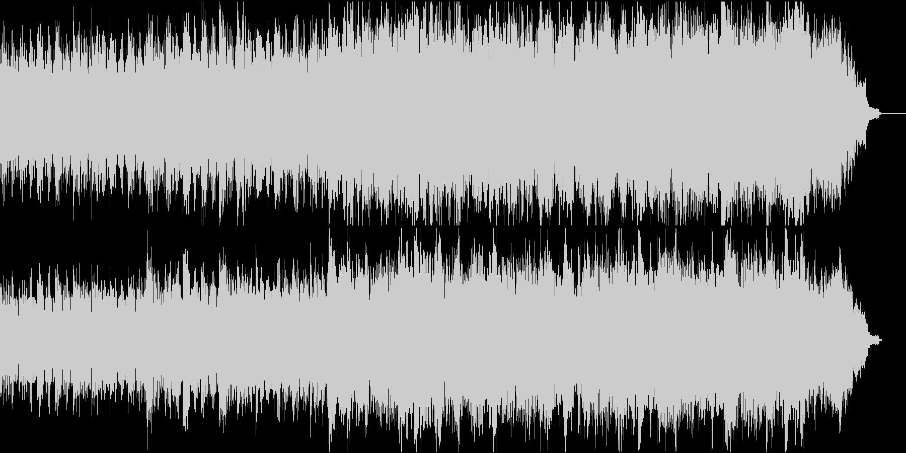 優しく感動的なピアノ+オケ③合唱ホルン抜の未再生の波形