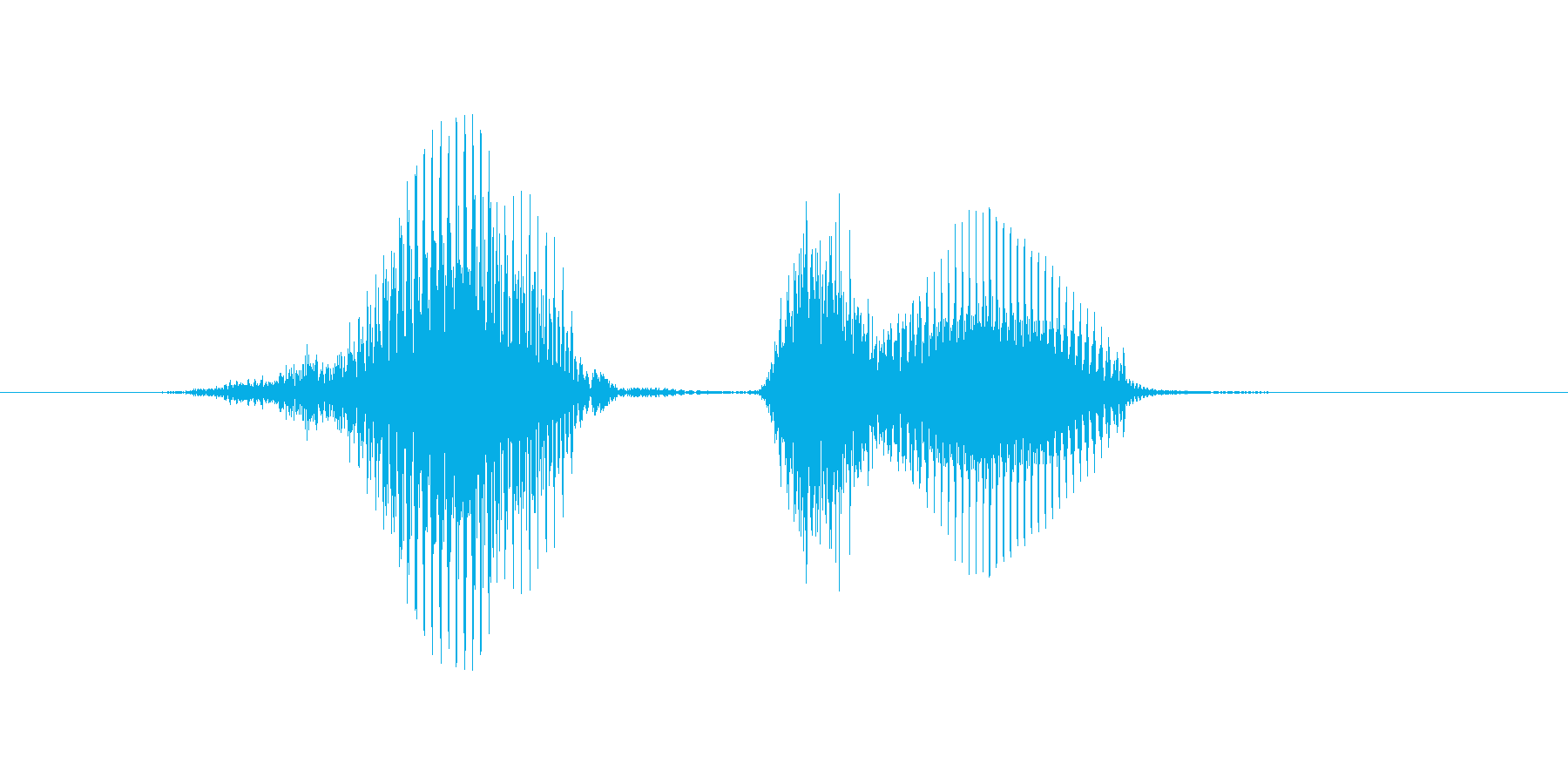 8(はち)の再生済みの波形