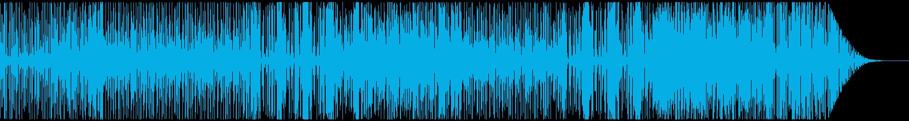 60s風・古くてクールなファンク/ロックの再生済みの波形