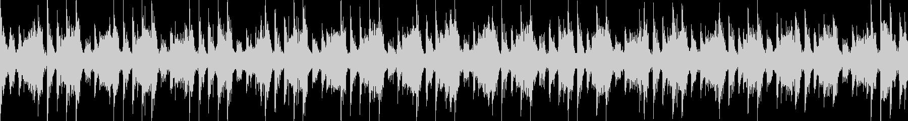 ピコピコ音の楽しいイージーリスニング曲の未再生の波形