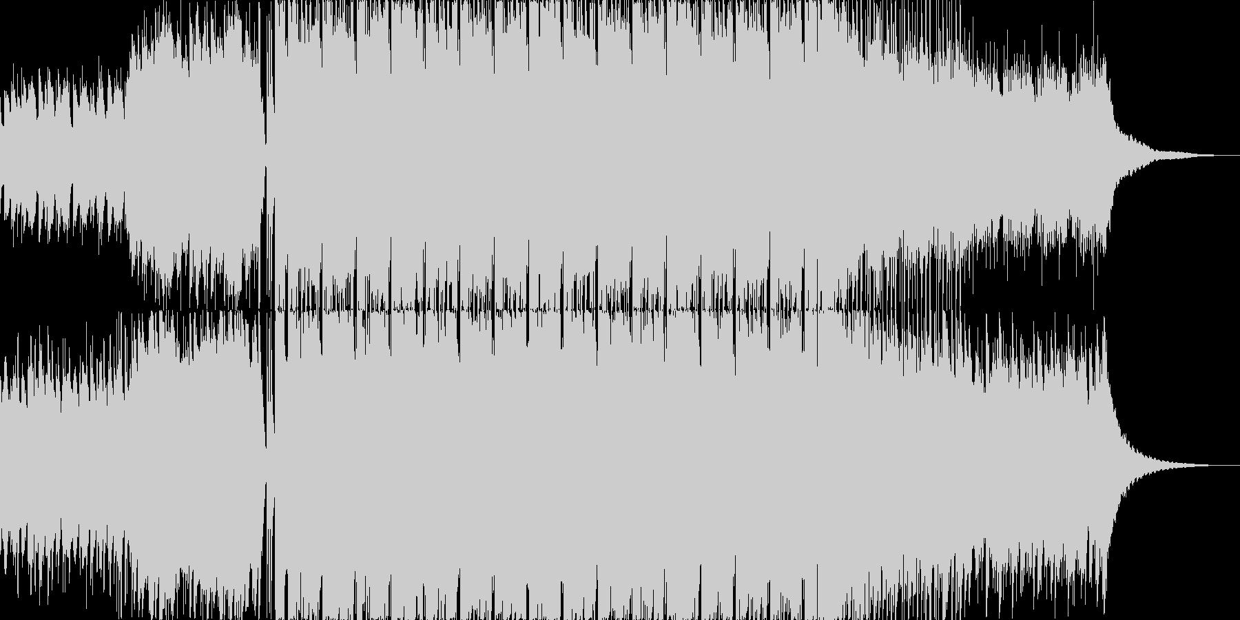 アコギ主体の爽やかなポップス2の未再生の波形