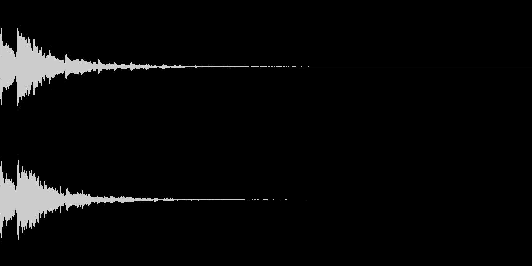 テュイン(ゲーム・アプリ等の決定音)の未再生の波形