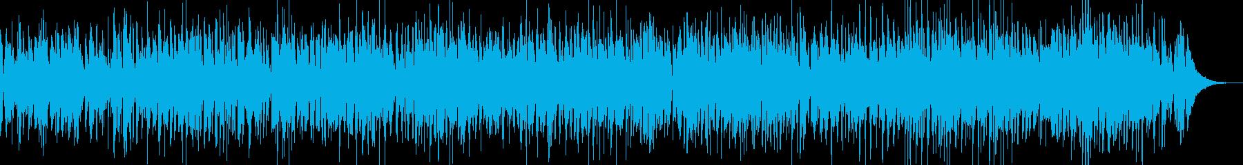 ほんわかボサノバ、映像に最適の再生済みの波形