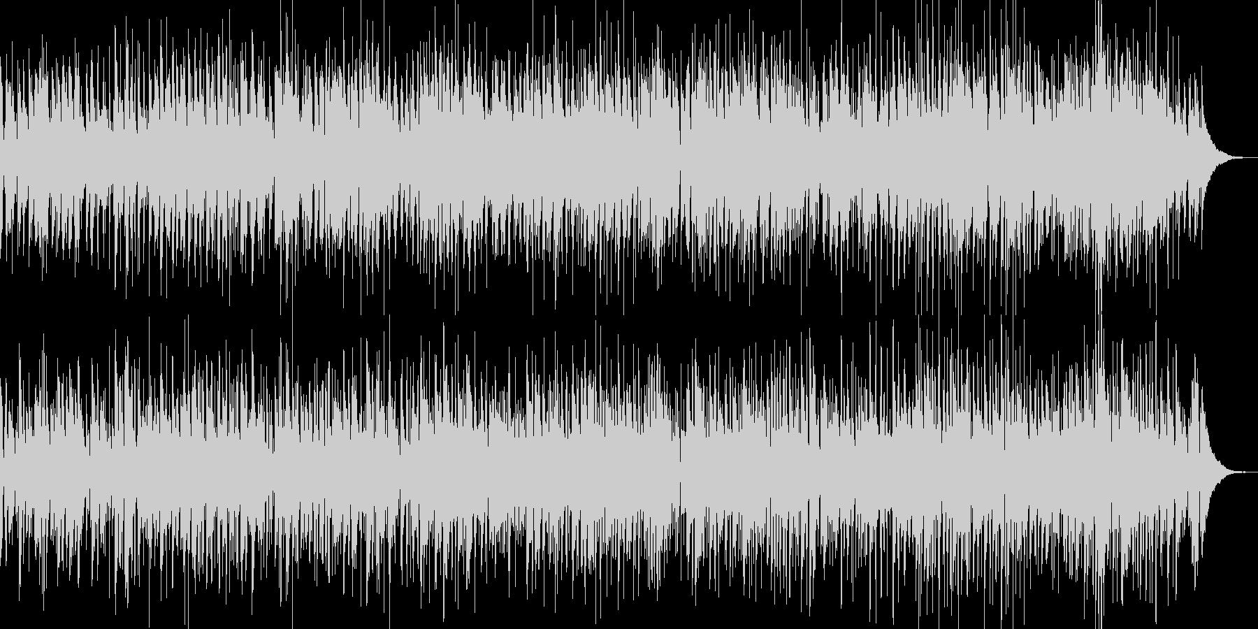 ほんわかボサノバ、映像に最適の未再生の波形