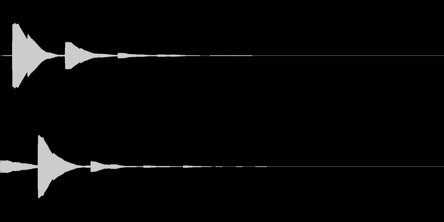 システム音23_シンセDZの未再生の波形