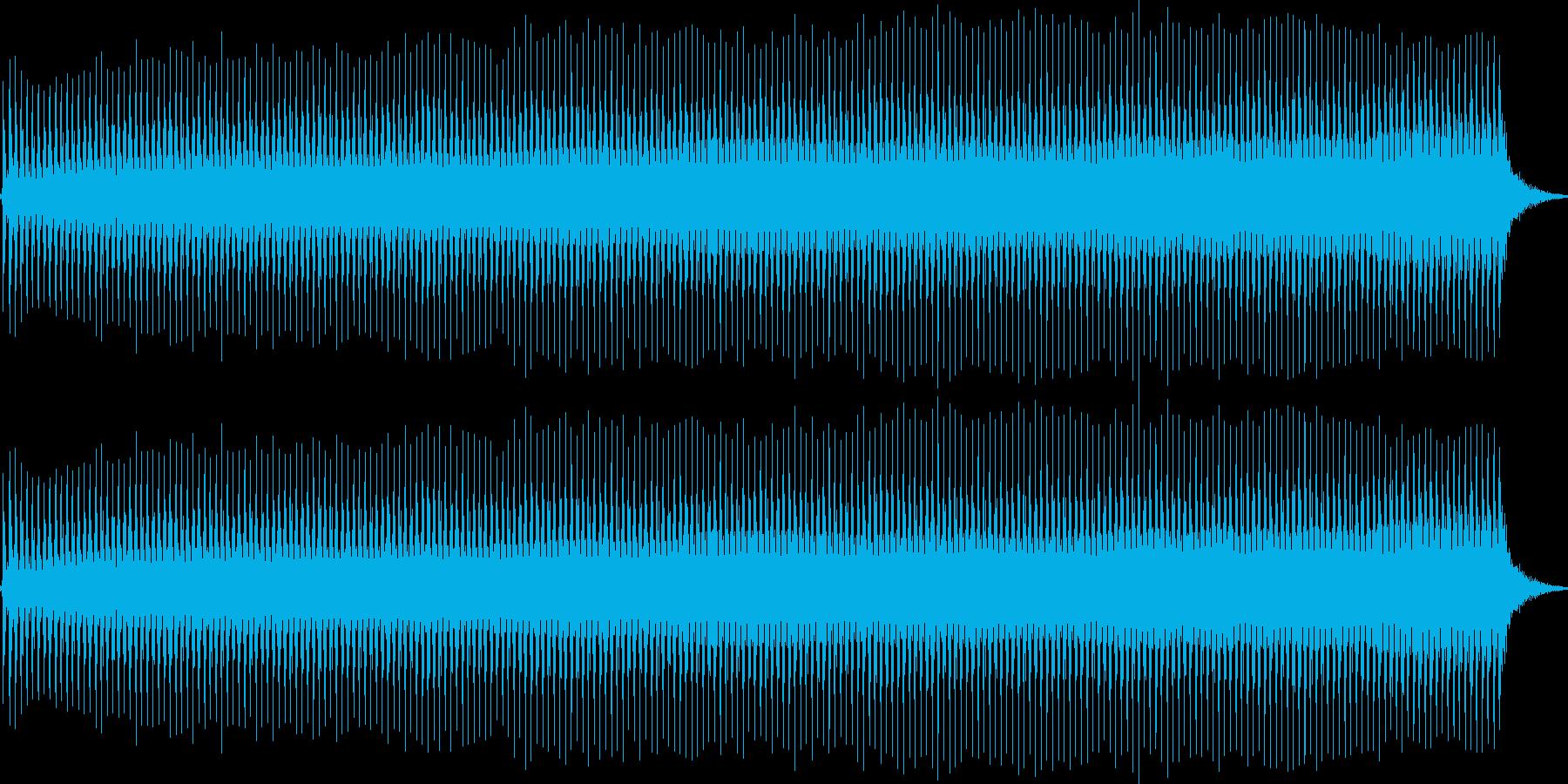開演ブザー(ブーッ)の再生済みの波形