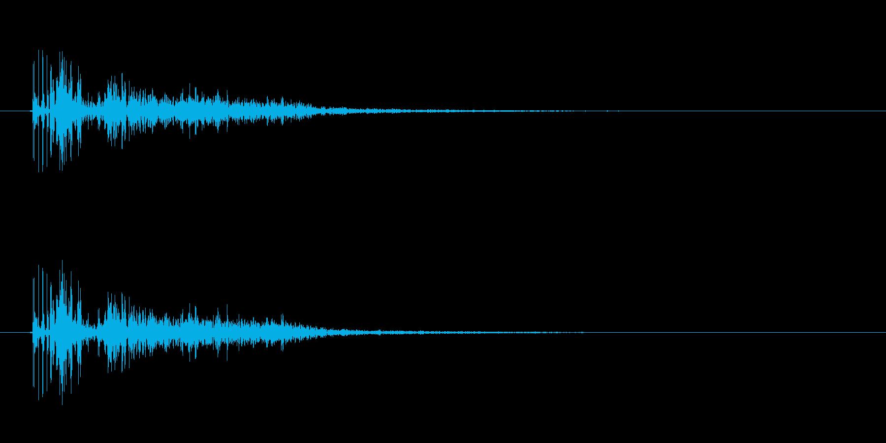 巨人の足音 の再生済みの波形