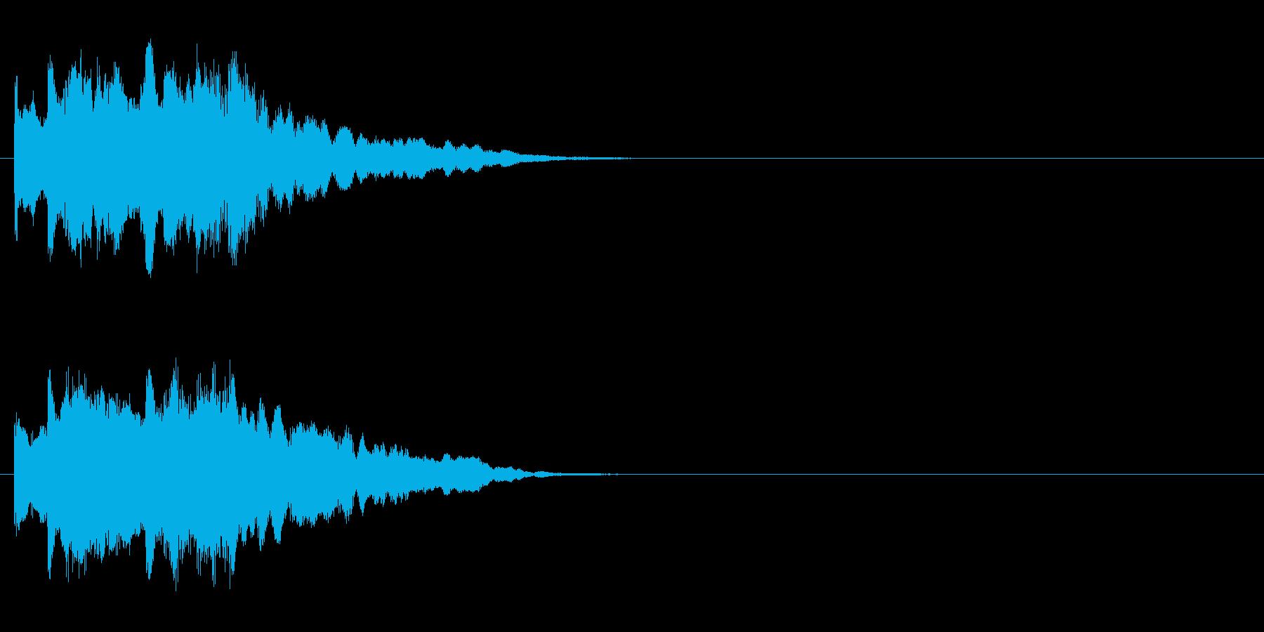 ジングル/神秘的、場面転換(環境)の再生済みの波形