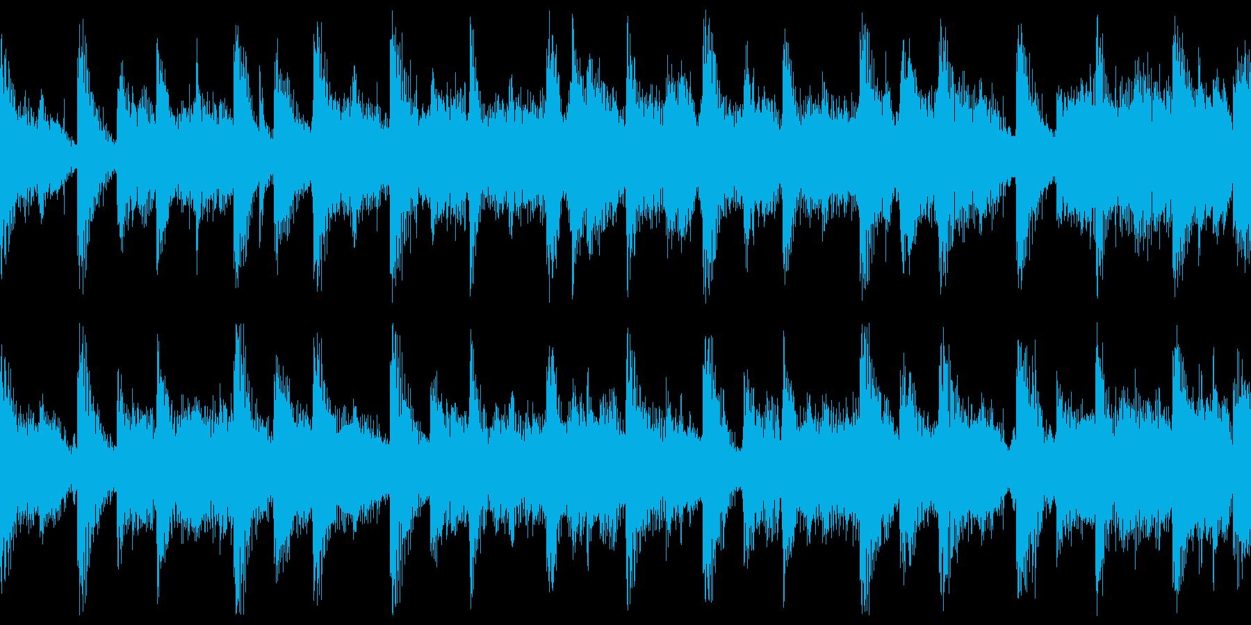 短ループ・バトル前・アトラクト・メニューの再生済みの波形